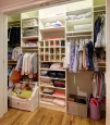 Reach In Closet in Ivory Finish