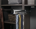 Synergy Elite Tie Rack in Polished Chrome