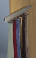 Synergy Elite Tie Rack in Matt Nickel