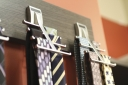 Wall Mount Tie Rack