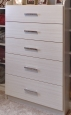 Flat Melamine Drawer Fronts