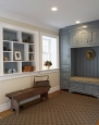 Custom Mud Room - Painted