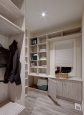 Mud Room In White Driftwood Finish