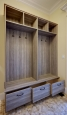 Mud Room in Summertime Blues Finish