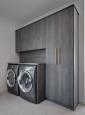 Laundry - Mud Room in Phantom Charcoal Finish