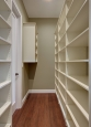 Pantry Closet in Ivory Finish