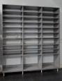 Garage Storage in Brushed Grey Finish