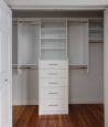 Reach In Closet in White Finish