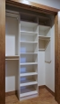 Coat Closet in White Chocolate Finish